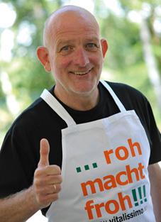 Norbert Wilms Rohkost-Botschafter