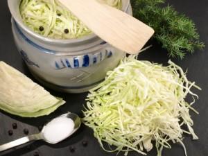 Sauerkraut einlegen