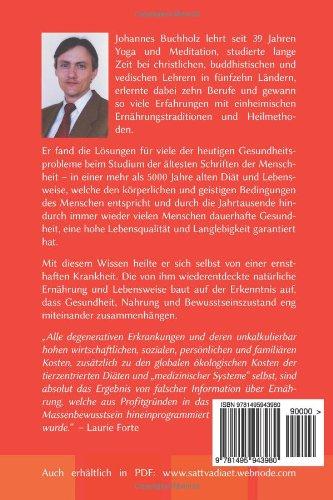 Die Sattva-Diät von Johannes Buchholz