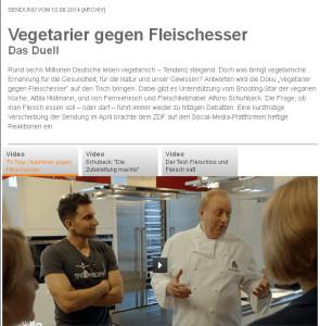 Vegetarier gegen Fleischesser Das Duell